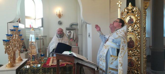 Божественная Литургия в Лазареву субботу в Свято-Лукинском храме